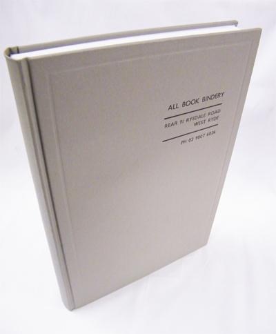 hard cover book and thesis binding allbook bindery